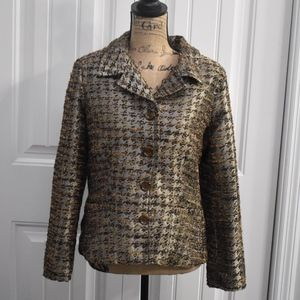 Chico's Copper Bronze Jacket Size 8